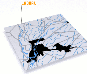 3d view of Ladhāl