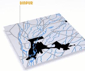 3d view of Dīnpur