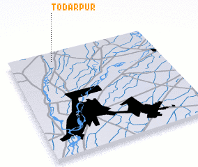 3d view of Todarpur
