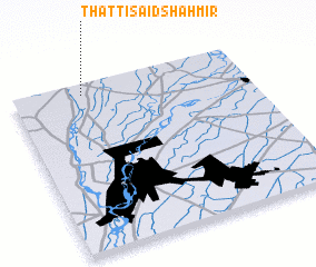 3d view of Thatti Said Shāhmir