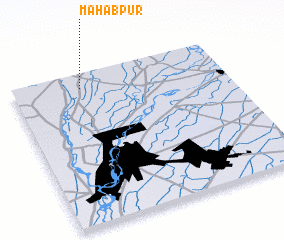 3d view of Mahabpur