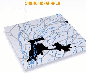 3d view of Shāh Chirāghwāla