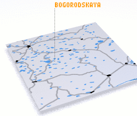 3d view of Bogorodskaya