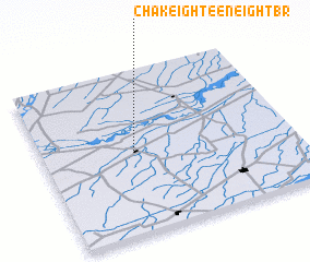 3d view of Chak Eighteen-Eight BR