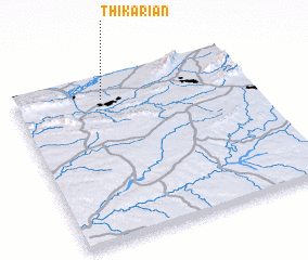 3d view of Thikariān