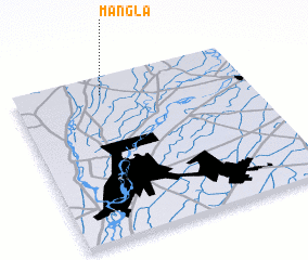 3d view of Mangla