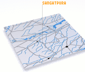 3d view of Sangatpura