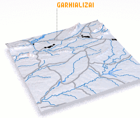 3d view of Garhi Alīzai
