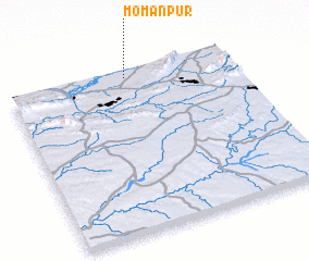 3d view of Momanpur