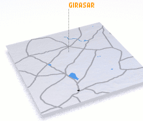3d view of Girāsar