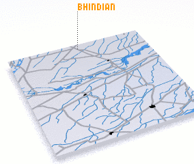 3d view of Bhindiān