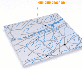 3d view of Muhammadābād