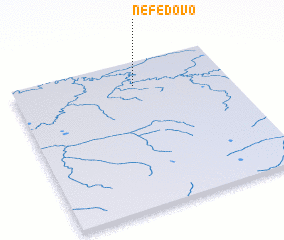3d view of Nefëdovo
