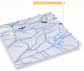 3d view of Dhok Kumhārwāli