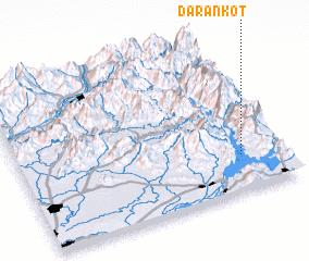 3d view of Darān Kot
