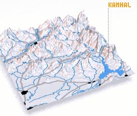 3d view of Kamhāl