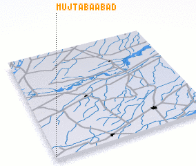 3d view of Mujtabāābād