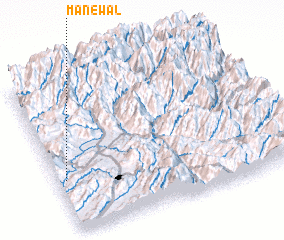 3d view of Manewāl