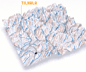 3d view of Tilhāla