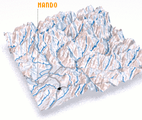 3d view of Māndo