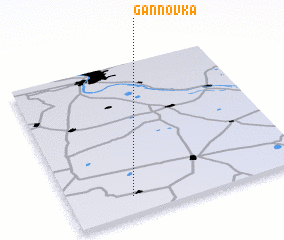 3d view of Gannovka