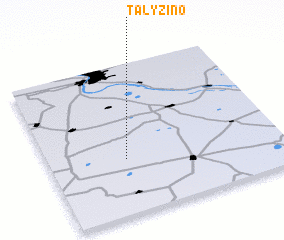 3d view of Talyzino