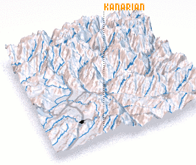 3d view of Kanariān