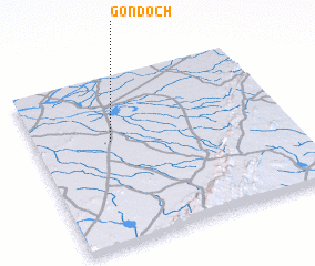 3d view of Gondoch