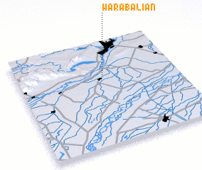 3d view of Wāra Baliān
