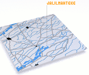 3d view of Jalīl Mahteke