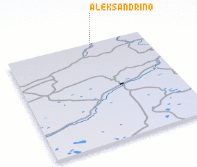 3d view of Aleksandrino