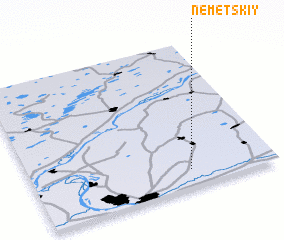3d view of Nemetskiy