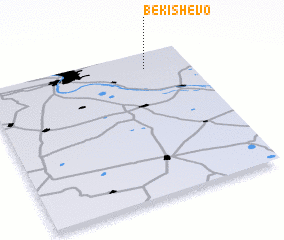 3d view of Bekishevo