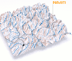 3d view of Panjūti