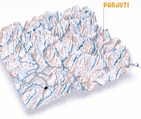 3d view of Panjūti