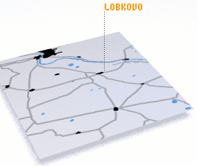3d view of Lobkovo