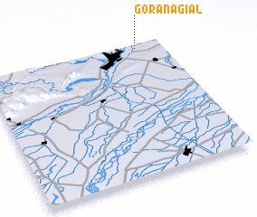 3d view of Gora Nagiāl