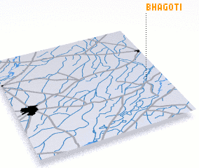 3d view of Bhagoti