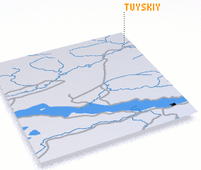 3d view of Tuyskiy