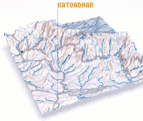 3d view of Katoa Dhar
