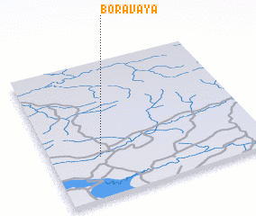 3d view of Boravaya