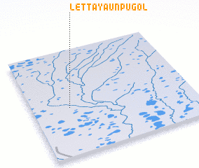 3d view of Letta-Yaun-Pugol