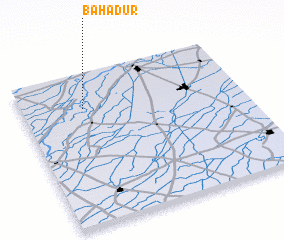 3d view of Bahādur