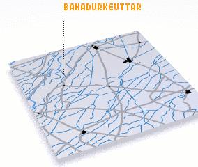 3d view of Bahādurke Uttār