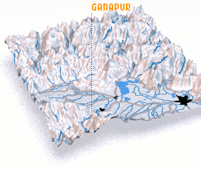 3d view of Ganapur