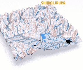 3d view of Shunglipura