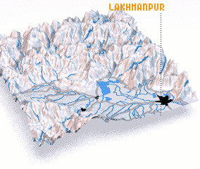 3d view of Lakhmanpur