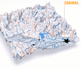 3d view of Zadibal