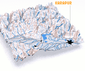 3d view of Kārapur