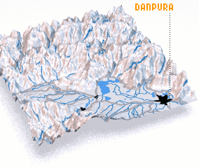 3d view of Dānpura